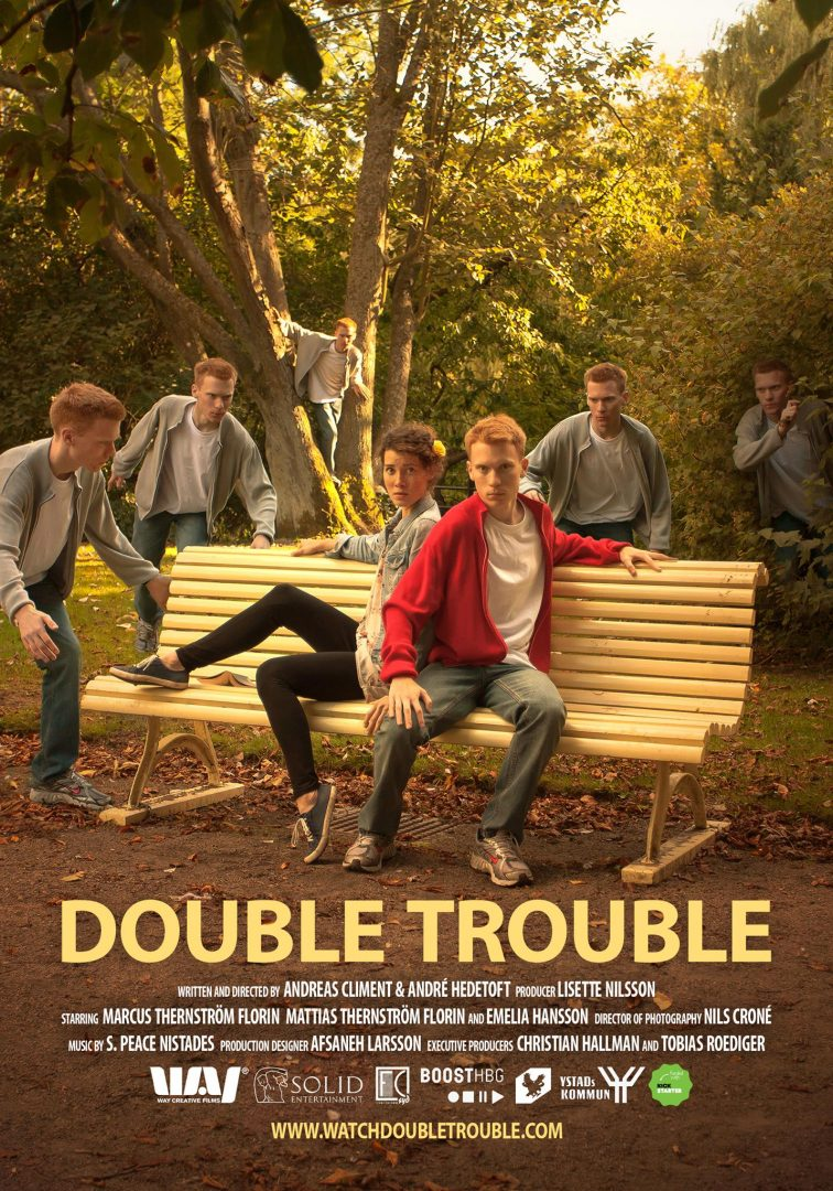 Double Trouble poster Andreas Climent